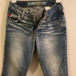 Mudd | Vintage Flare Leg Acid Wash Jeans